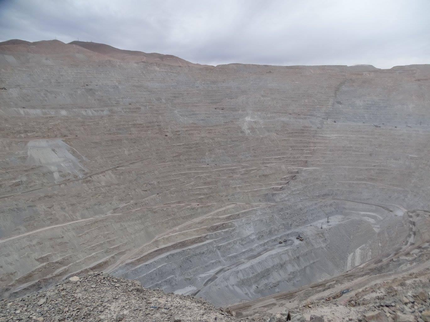 Chuquicamata - Mine de cuivre