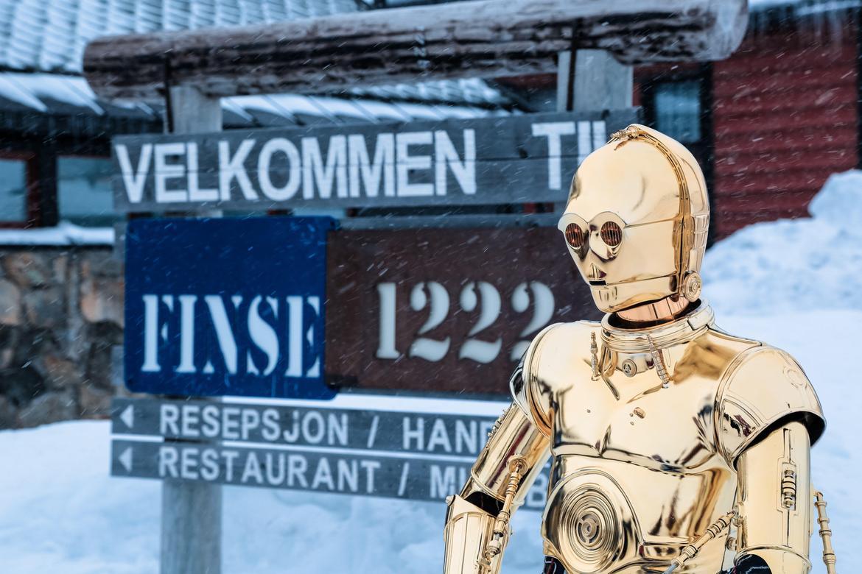 Finse, le glacier Hardangerjøkulen et Star Wars