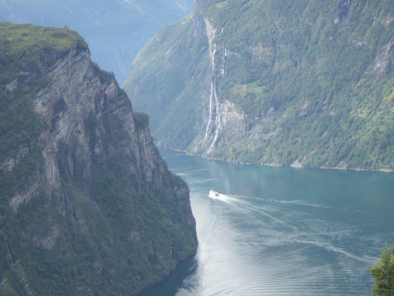 Les fjords en Norvège et dans le reste du monde