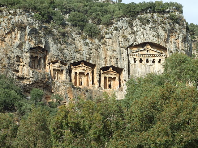 Dalyan - Site antique de Kaunos