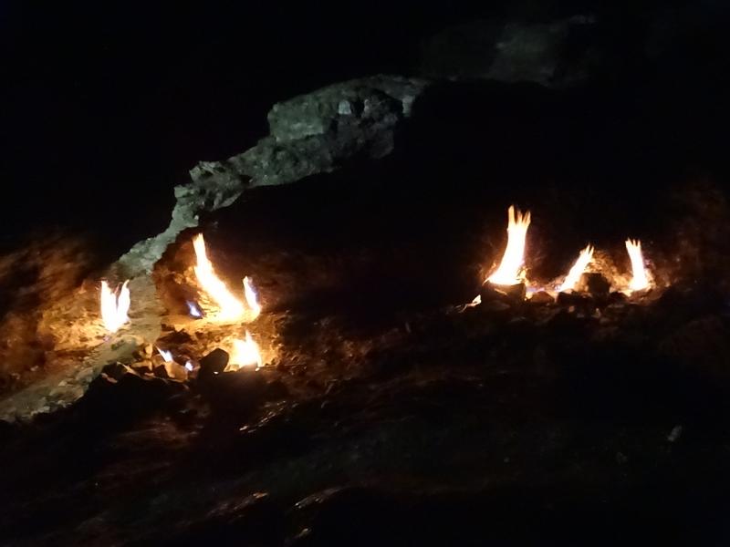 Cirali - le mont Chimaera et la plage