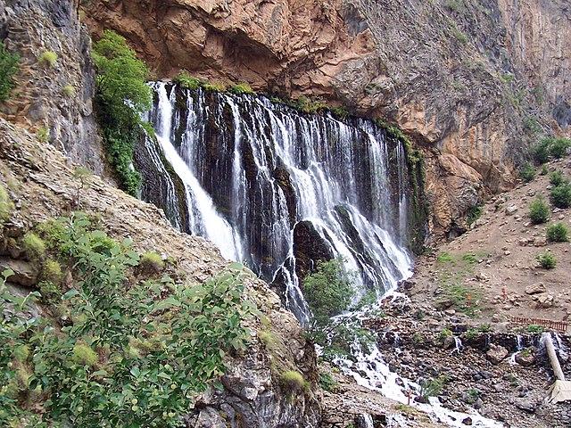 Cascades de Kapuzbaşı