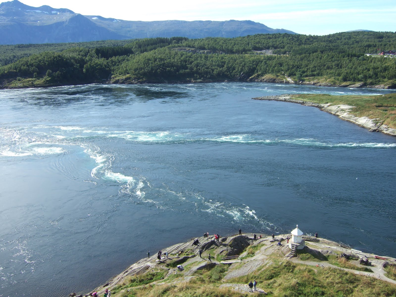 Bodø - Le maelström Saltstraumen